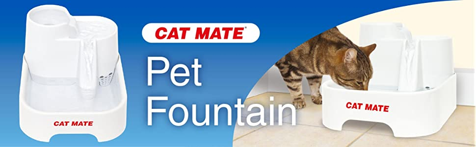 cat mate pet fountain instructions