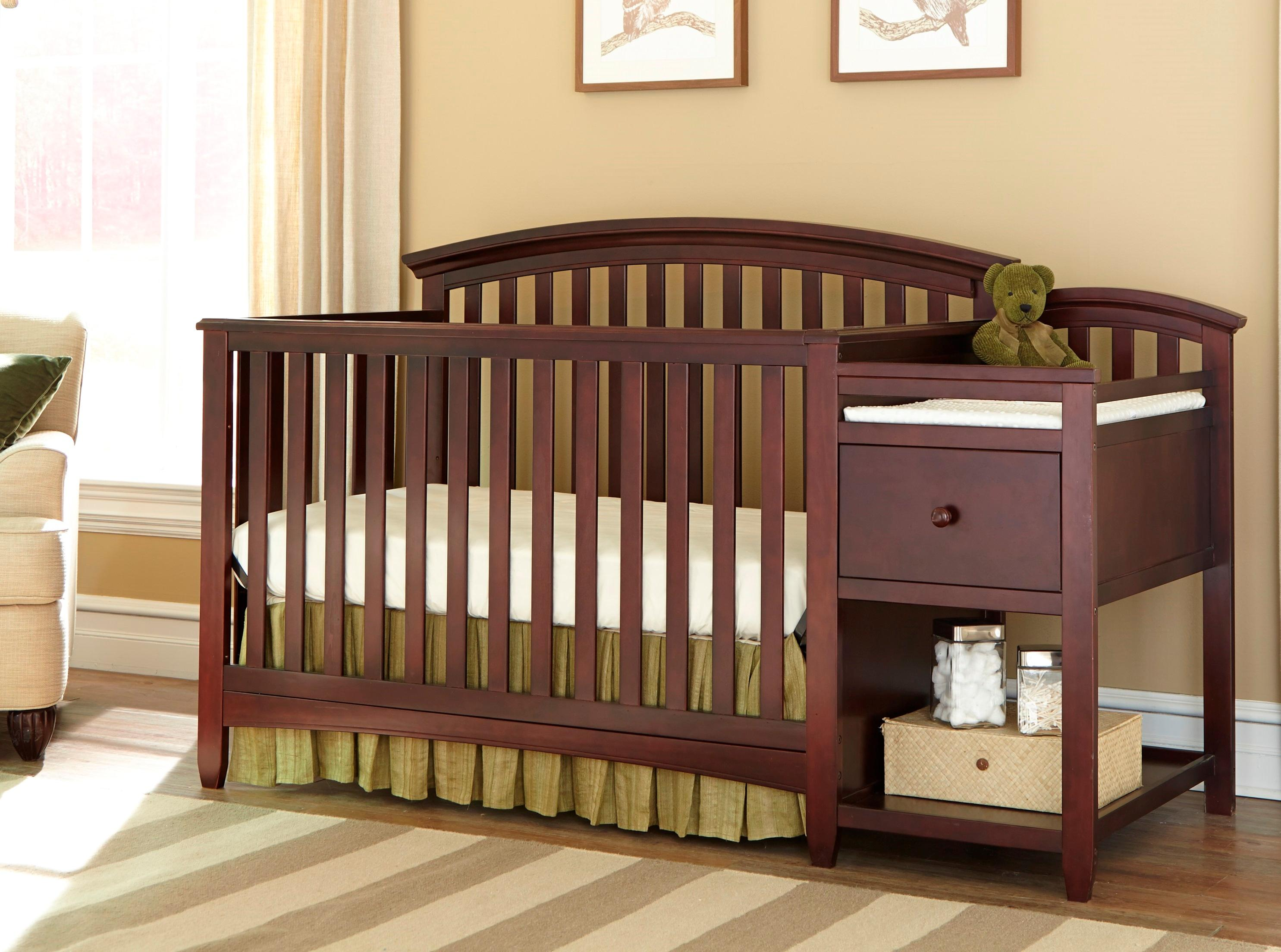 baby evolur crib turns reviews into pdx wayfair parker convertible bed in kids