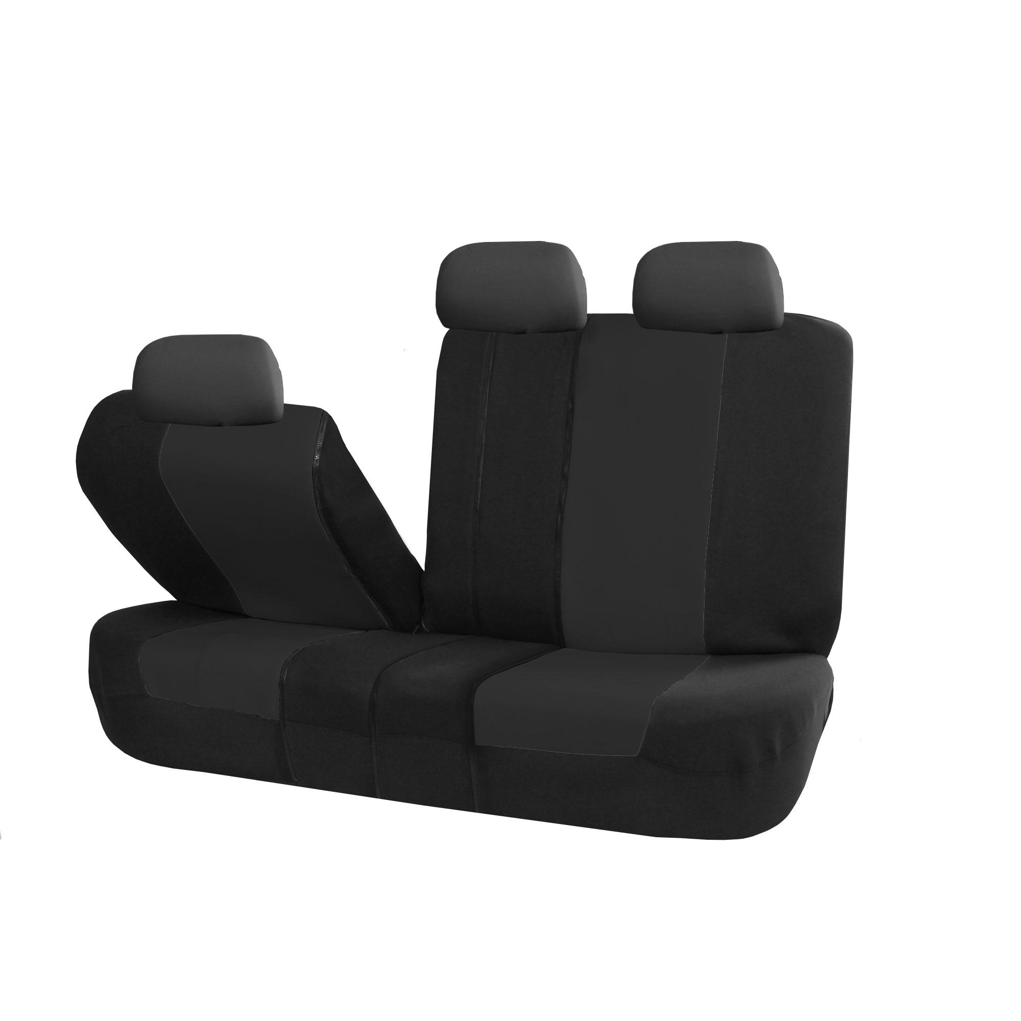 Split Bench Seat Covers ~ Amazon fh group fb black universal split