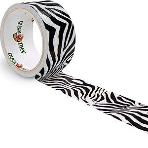 Duck Tape Zebra