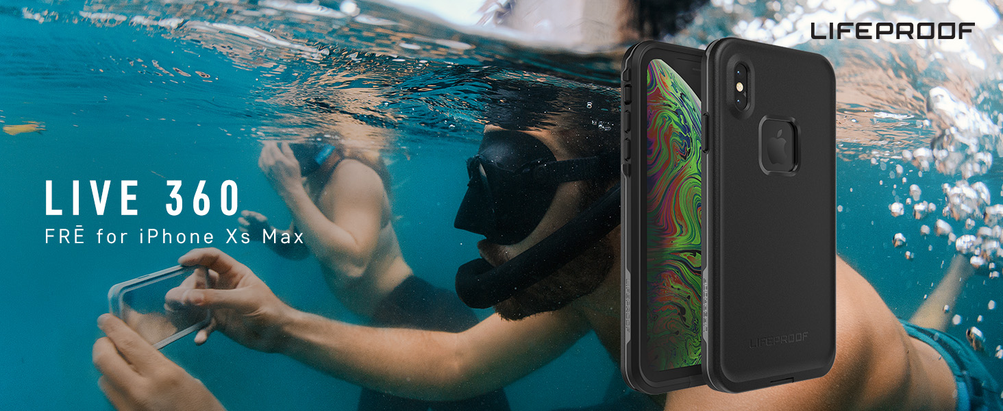 waterproof case, iphone xs max waterproof case, iphone waterproof case, lifeproof ixs max case