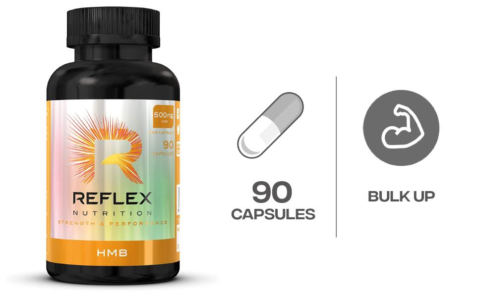 Reflex Nutrition HMB Standard - 90 Cápsulas: Amazon.es: Salud ...