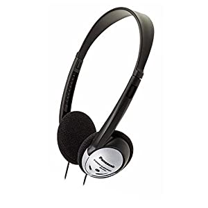 Panasonic Headphones On-Ear Lightweight with XBS RP-HT21