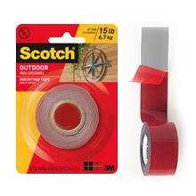 Amazoncom 3M Scotch 4011 Exterior Mounting Tape 1 in x 60 in