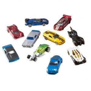 Hot Wheels Pack 50 Vehículos, coches de juguete (modelos surtidos ...