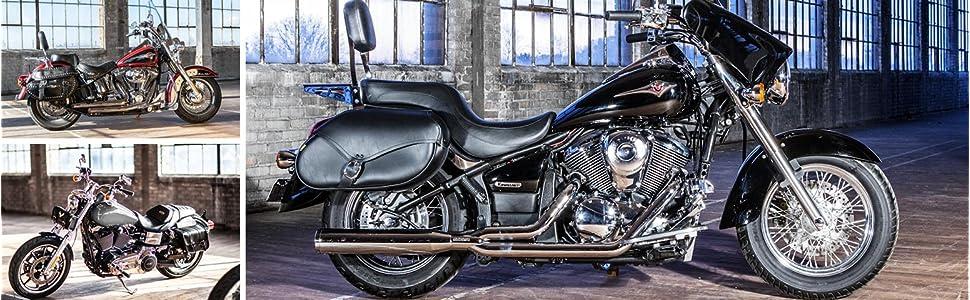 harley davidson saddlebags, motorcycle saddlebags, motorcycle luggage, leather saddlebags