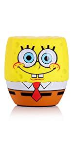 spongebob squarepants, bitty boomer, bluetooth, speaker