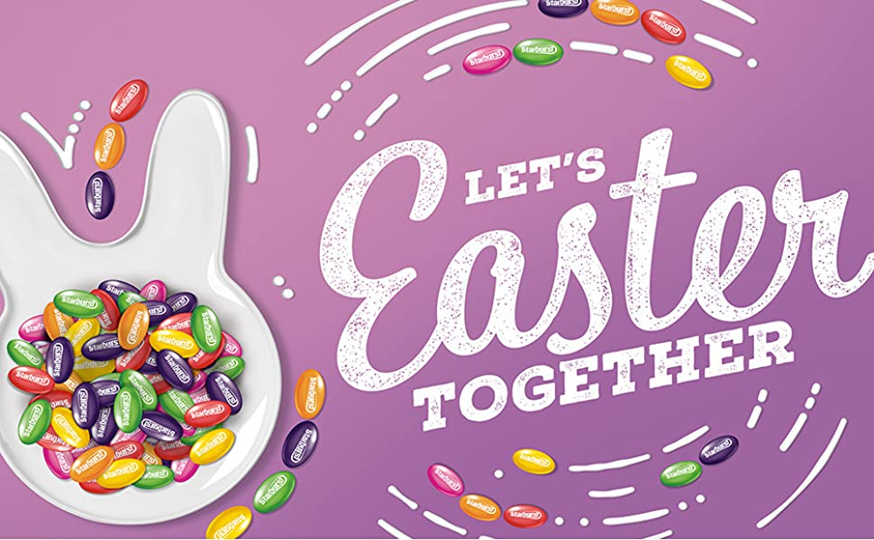 Let's Easter Together with Starburst Jellybeans