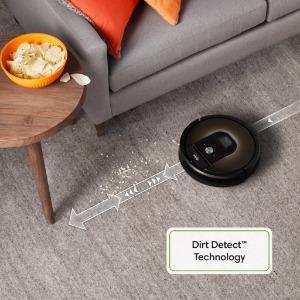 dirt detect, sensors, spots, dirt areas