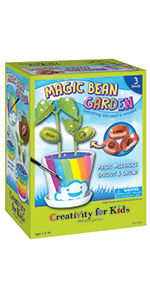 garden kit for kids, kids garden kit, magic bean garden, garden for girls, garden for boys