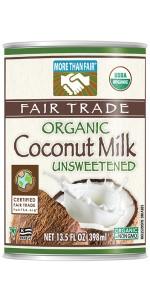 More Than Fair Organic Coconut Milk