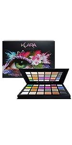 Klara Cosmetics Malibu 24 eyeshadow palette product image