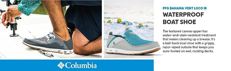 Columbia Men's PFG Bahama Vent Loco III Boat Shoes