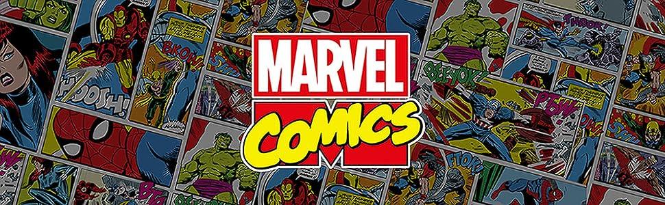 Marvel Men's Core Logo Long Sleeve Hoodie