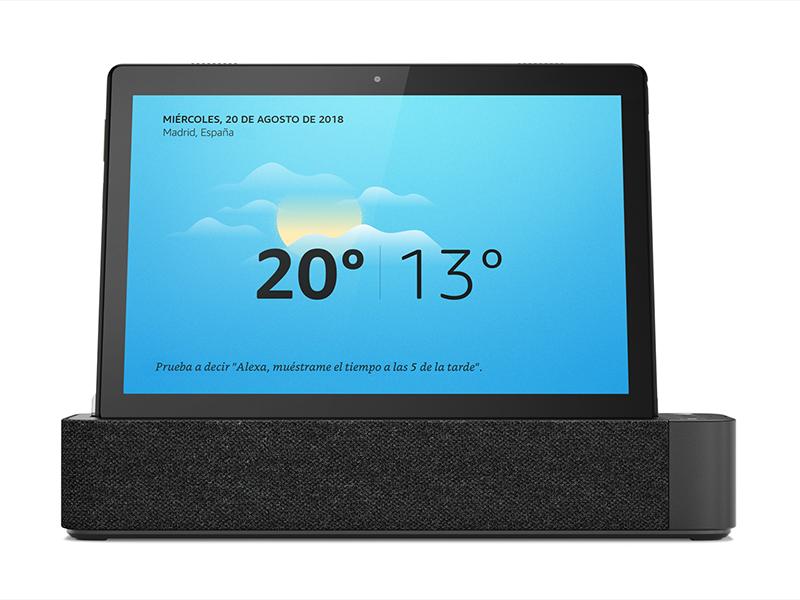 Lenovo Smart Tab M10 - Tablet de 10.1