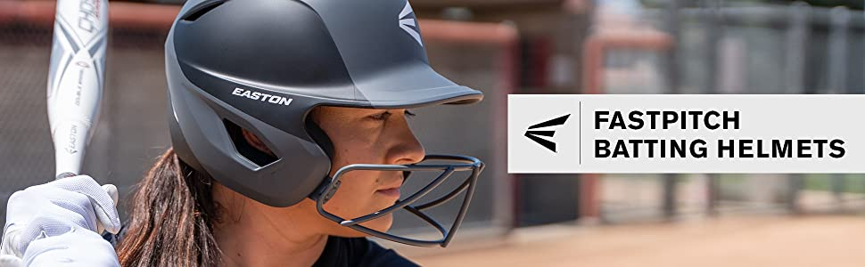 fastpitch batting helmets