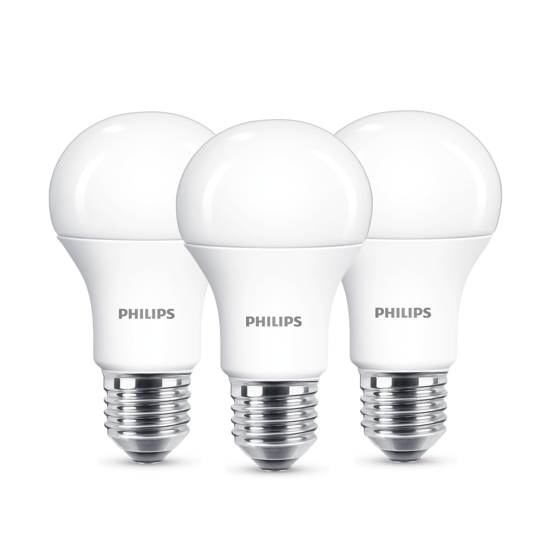 philips led lampe ersetzt 100w warmwei 2700 kelvin. Black Bedroom Furniture Sets. Home Design Ideas