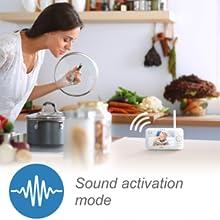 sound activation mode