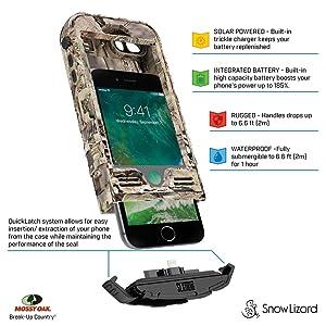 iPhone7; iPhone7s; slxtreme; slxtreme 7; waterproof iPhone case; Snow lizard; snowlizard; snowlizard