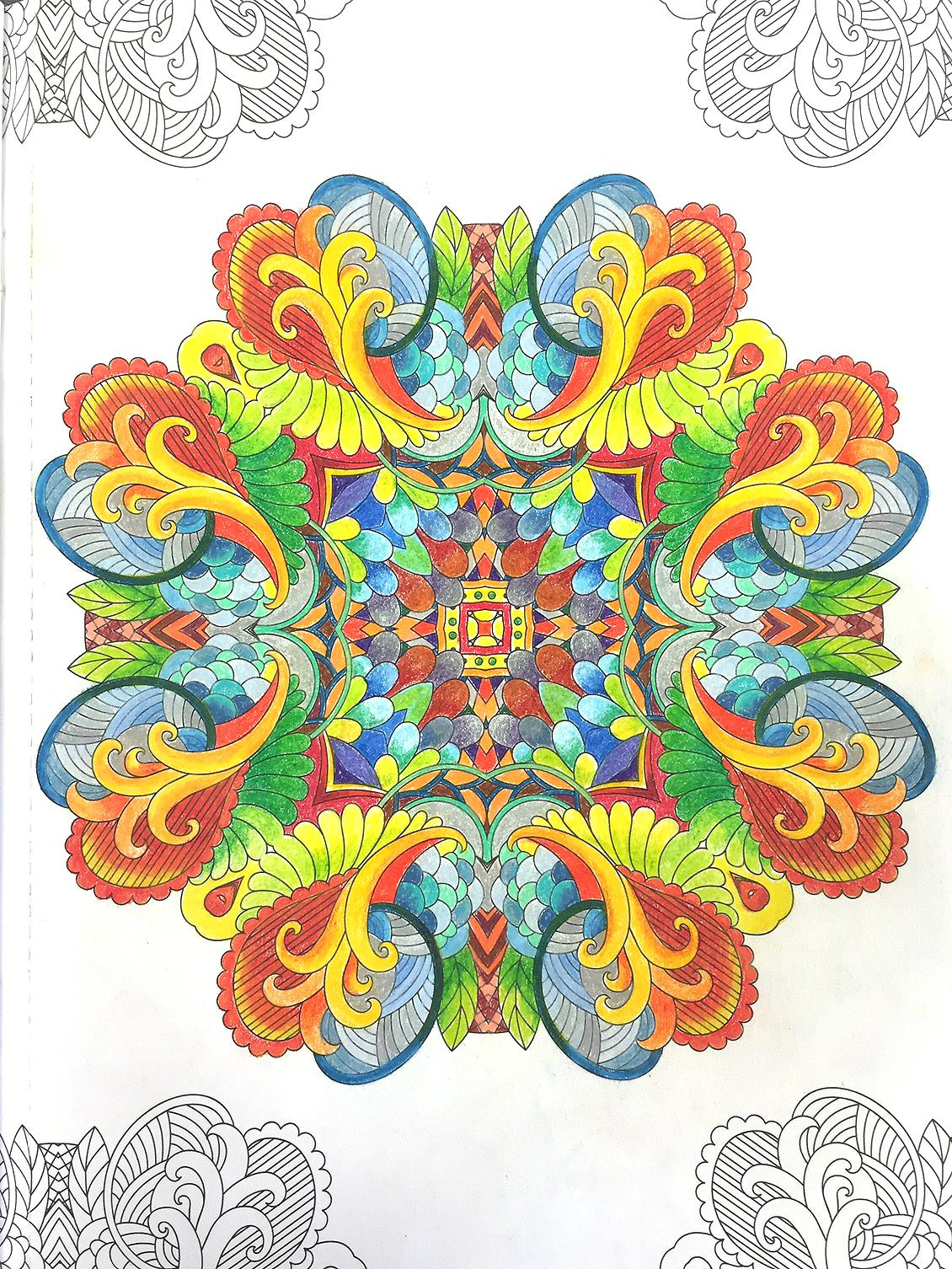 Amazoncom Mandala Wonders Color Art for Everyone 0028906067651