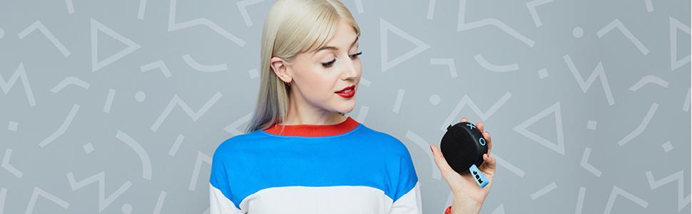 JAM Audio, shower speaker, wireless bluetooth speaker, compact speakers, portable speakers
