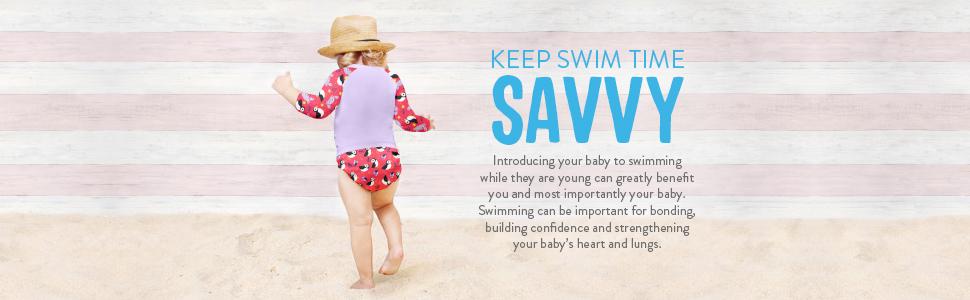 Bambino Mio keep swim time savvy
