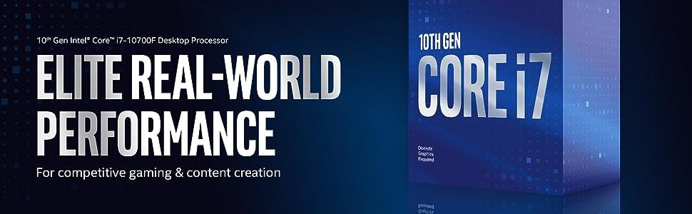 10th Gen Intel Core i7-10700F Desktop Processor