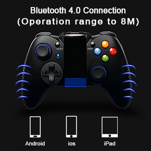 Game Controller Wireless, PowerLead Joystick Perfect for PUBG