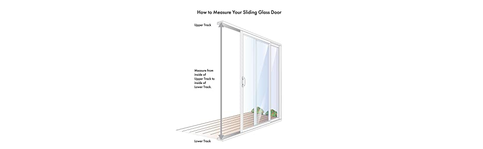 Patio Panel Sliding Glass Pet Door, Dog, Cat, Exterior, Best, How to Measure what size