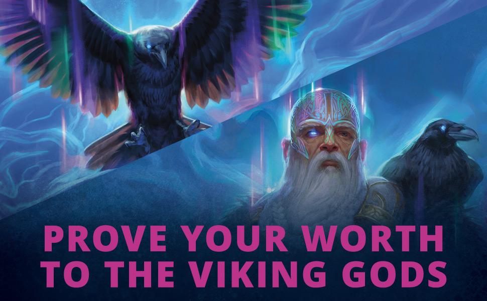 Prove your worth to the viking gods, Kaldheim, Magic: the Gathering