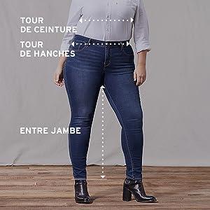 e52b34b6f33b3 Levi s - 19644 - Jeans (Plus Size) - Femme  Amazon.fr  Vêtements et ...