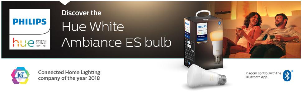 Hue White Ambiance ES bulb