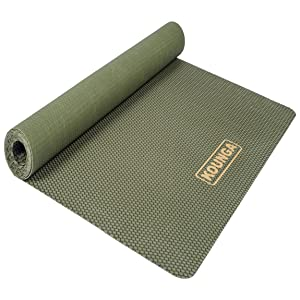 Kounga Yoga Mat Natura Pro Ultra Light 1.5 Esterilla, Unisex Adulto, Dark Green, One Size