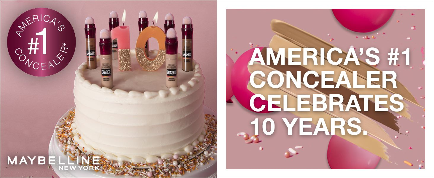 Maybelline New York - America's #1 Concealer Celebrates 10 Years