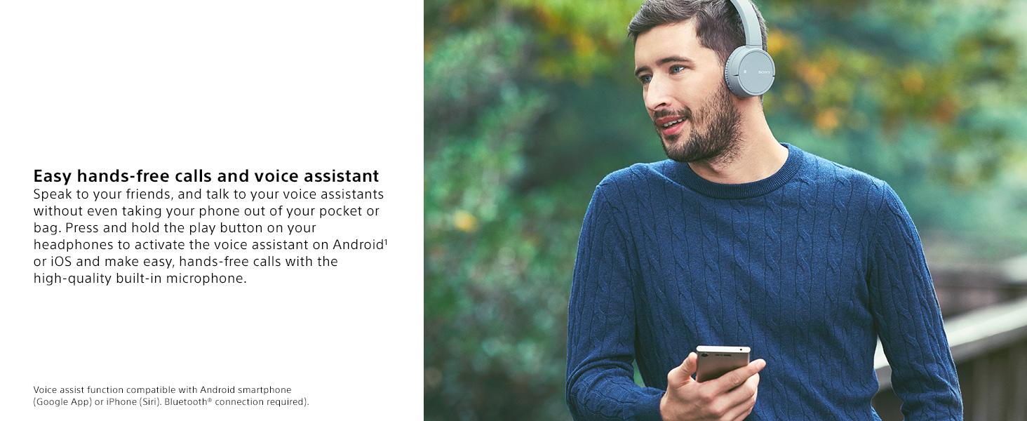 Amazon.com: Sony WH-CH500 Wireless On-Ear Headphones