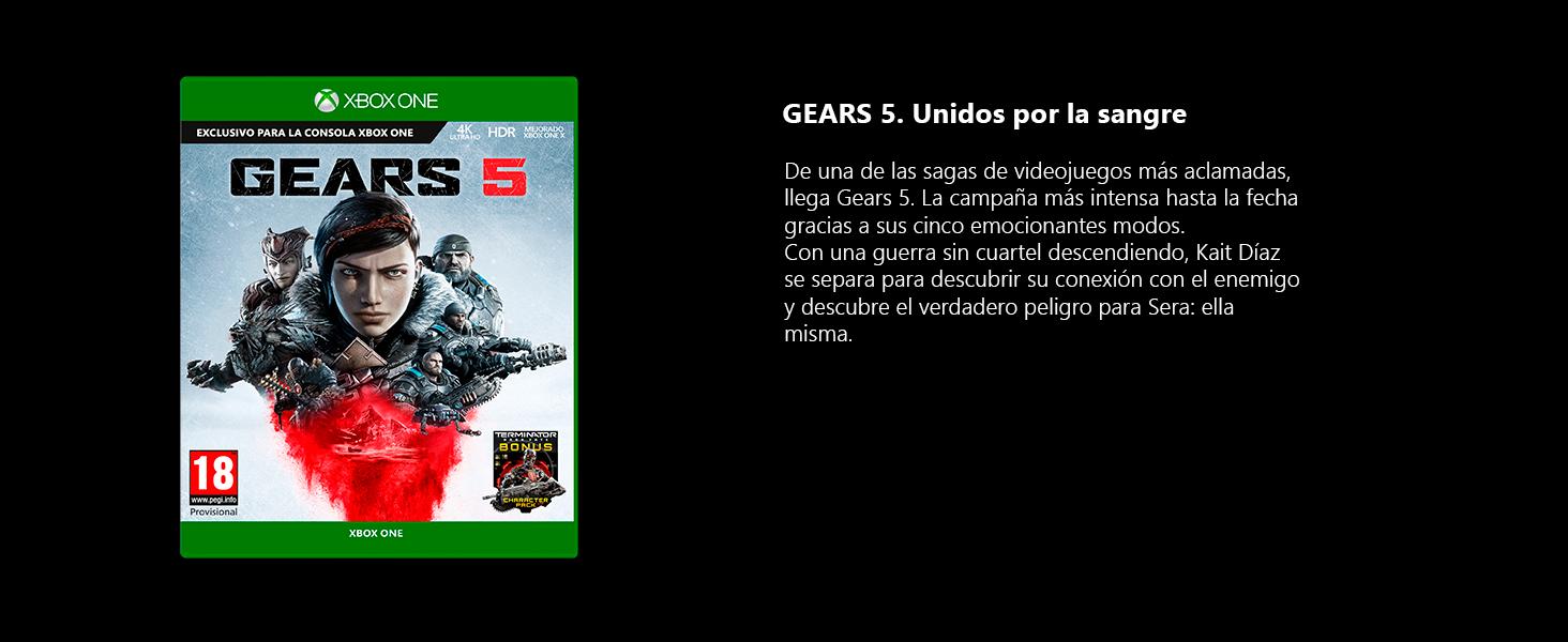 Xbox One X Gears 5: Microsoft: Amazon.es: Videojuegos