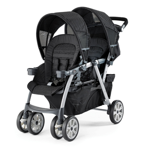 cortina double stroller
