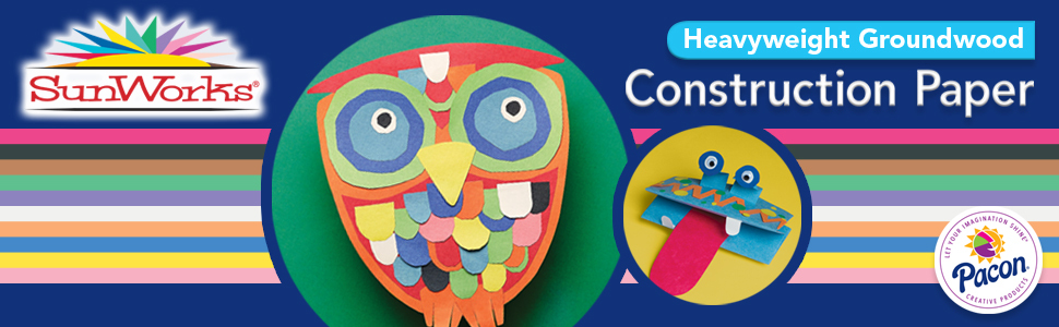 construction paper, sunworks, pacon, assorted colors, teachers, kids, school, art projects, crafts