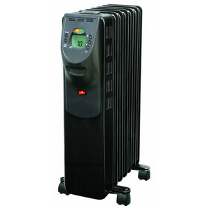 Comfort Zone Digital Electric Oil Filled Radiator Heater on