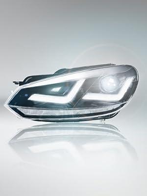 Osram Ledriving Xenarc Scheinwerfer Chrome Xenon Ledhl102 Cm 1 Set 2 Scheinwerfer Auto