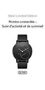 ... Nokia,Withings,Steel Edition Limitée,Full Black ...