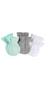 Organic Cotton mittens Burts Bees Baby No Scratch Mitts