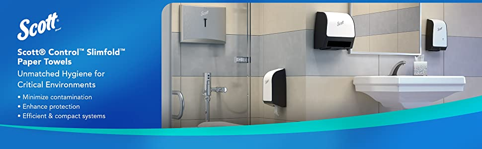 Scott Control Provides Unmatched Hygiene for Critical Environments