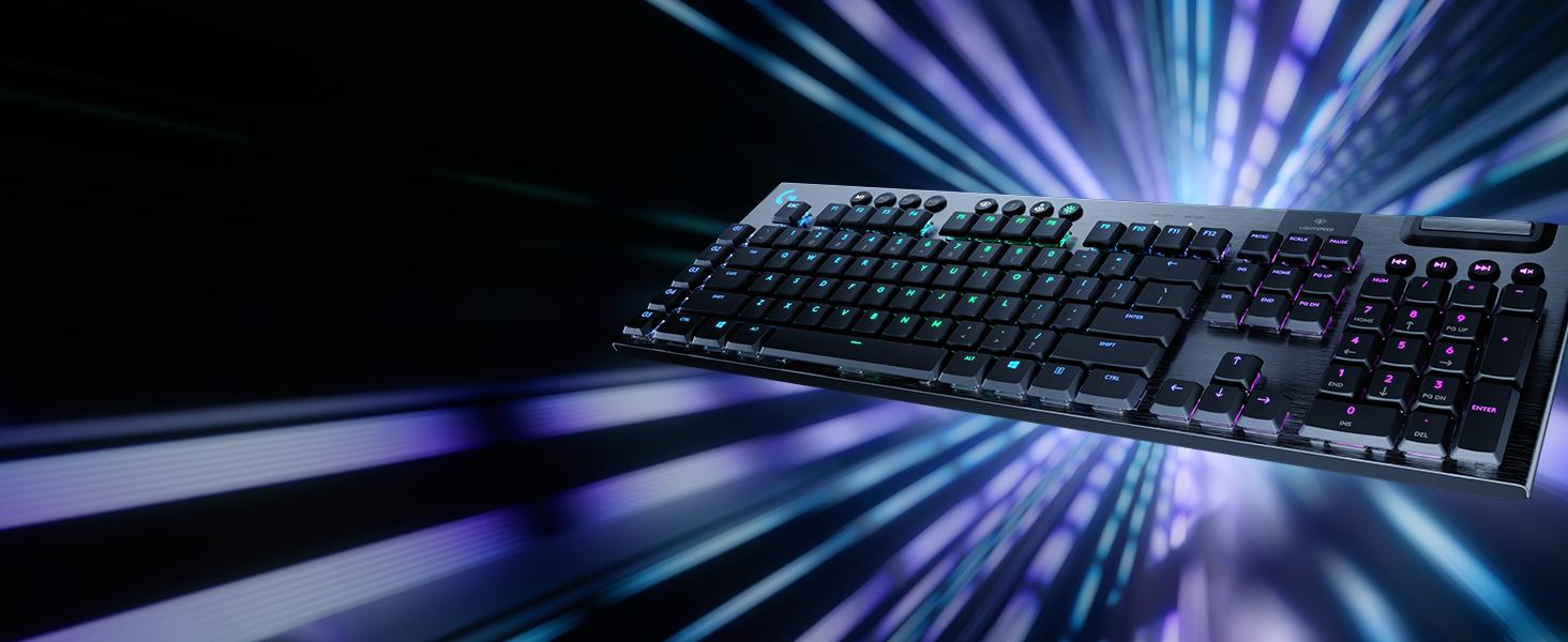 G915 LIGHTSPEED RGB Mechanical Gaming Keyboard