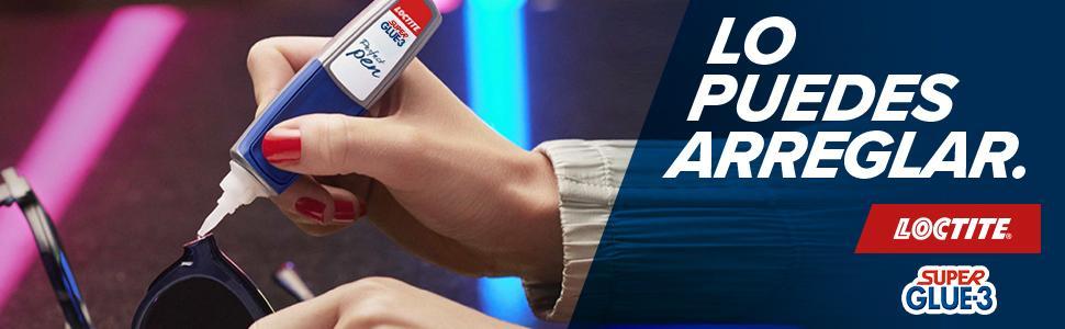 Loctite Super Glue-3 Perfect Pen, adhesivo transparente con forma ...