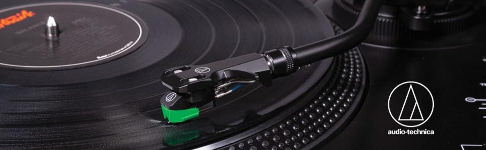 Audio-Technica AT-LP120XUSB GIRADISCOS DE TRACCIÓN DIRECTA ...
