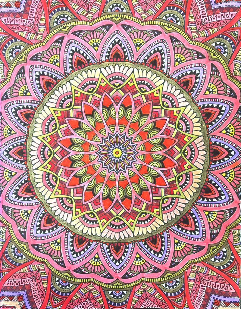 amazoncom mandala wonders color art for everyone