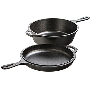 lodge, lodge cast iron, lodge combo cooker