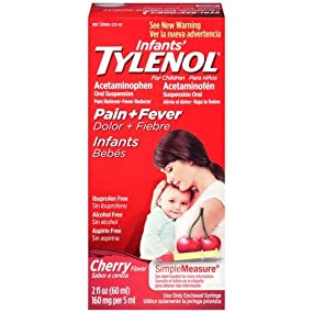 Infants' TYLENOL Oral Suspension, Cherry, 2 Oz