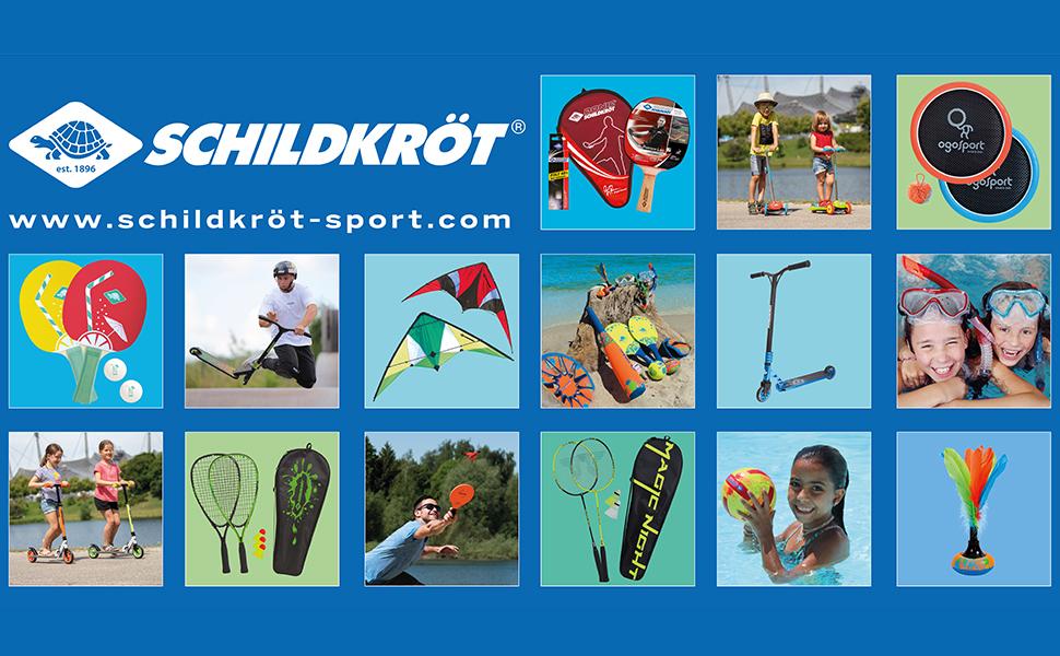 Multicoloured standard size Hudora Childrens Federballset Kids Shuttlecocks